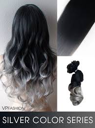 vpfashion hair extensions silver series colorful clip in c005 c005 vpfashion