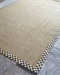 mackenzie childs l amazon com mackenzie childs courtly check sisal rug 2 w x 3 l