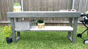 Patio Serving Table Bar Serving Table Outdoor Rustic Wooden Cooler Bar Serving Or