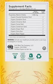 Dandelion Facts Yogi Roasted Dandelion Spice Detox Tea Bags 16 Ct Walmart Com