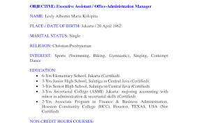 Resume Objective For Office Assistant 100 Resume Objective For Office Administrator Tasty Resume