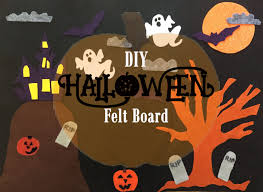 halloween felt board u2013 a simple halloween craft for kids u2013 the