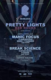 pretty lights red rocks tickets the official pretty lights red rocks afterparties euphonic conceptions