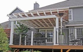 Pergola With Awning by Portland Residential Retractable Patio Canopies