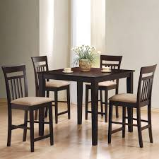 Cappuccino Dining Room Furniture Coaster Furniture 150041 Moreland 5 Pieces Dining Set In