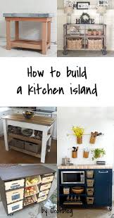 diy to try kitchen island ohoh blog