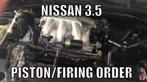 nissan altima ignition coil nissan 3 5 firing order piston order youtube
