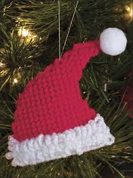plastic canvas ornaments santa hat