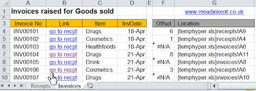excel hyperlink navigation and macro buttons