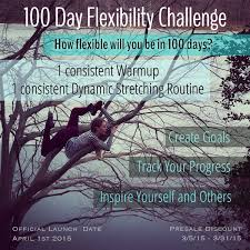 How To Do Challenge I Am So Excited To Announce The Upcoming 100 Day Flexibility