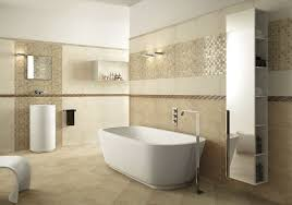 bathroom ceramic tile installation light brown ceramic tiled wall