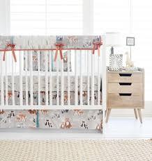 Orange Crib Bedding Orange Crib Bedding Neutral Baby Bedding Crib Set
