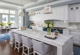 traditional coastal home with classic white kitchen home bunch