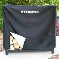 kitchen elegant wood rack woodhaven 14 cord with cover madden