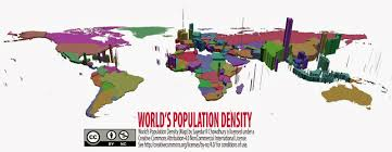 Population Map World U0027s Population Density Map Maps U0026maps