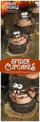 how to make spider halloween cupcake toppers spend with pennies
