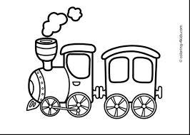 train coloring pages free christmas thomas printable train