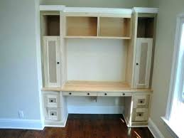 Built In Corner Desk Ideas Built In Office Desk Built In Desk Plan Brilliant Built In Office