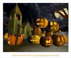 use powerpoint to create a halloween game or story video