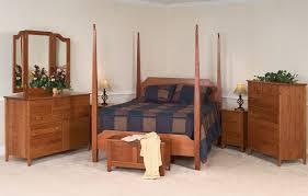 Shaker Bedroom Furniture by Custom Shaker Bedroom Queen Cherry 7pcs By Customhandcraft