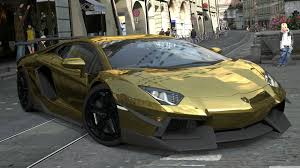 red chrome lamborghini lamborghini aventador lp700 4 gold chrome gran turismo 5 4k hd