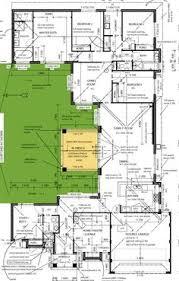 Floor Plan Modern House U Shaped 5 Bedroom Family Home Floor Plans Pinterest