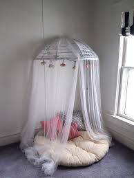Circle Crib With Canopy by Old Papasan Turned Into A Papasan Canopy Reading Nook