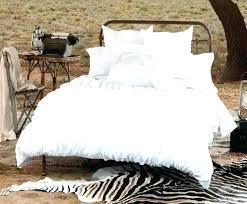 Ruffle Bedding Set White Comforter Set Designdrip Co