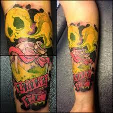 alice in wonderland tattoo drink me by ceress chan on deviantart
