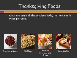 thanksgiving objectives students will be able to explain what