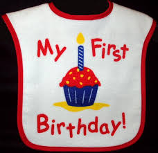 1st birthday bib birthday bib
