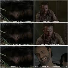 Walking Dead Rick Crying Meme - walking dead rick grimes lol meme funny zombie walking dead
