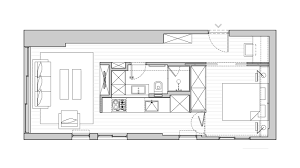 small flat plans home design