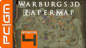 Skyrim World Map a la mods de skyrim 4 warburgs 3d paper world map u0026 colored map