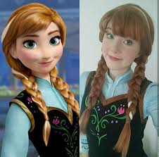 anna from frozen hairstyle cosplay anna frozen album on imgur