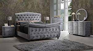 Sleigh Bed Set Hudson Sleigh Bedroom Set 6 Pc King Size Bed 2