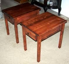 Build Wood End Tables by Our Wooden Table Plans Include Free End Table Plans For The
