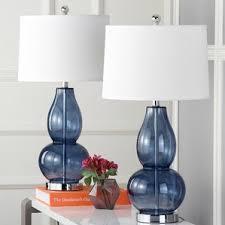 Glass Table Lamps Glass Lamps You U0027ll Love Wayfair