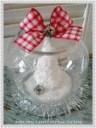 dollar tree christmas snow globe tutorial tutorials craft and