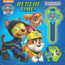 paw patrol rescue book nickelodeon official publisher