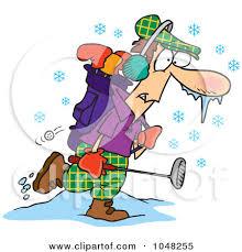 winter cartoons free cartoon winter golfer 8 pinterest