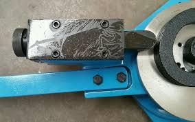 metal steel coil hoop scroll bender ornamental fabrication metal