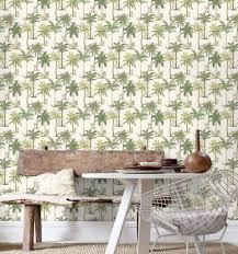 papier peint pour salon salle a manger le papier peint tropical pour décorer votre intérieur shake my blog