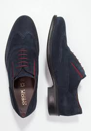 men casual shoes geox carnaby lace ups navy discount geox