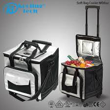 travel cooler images Travel frozen food four wheels pull rod expansion cooler bag buy jpg