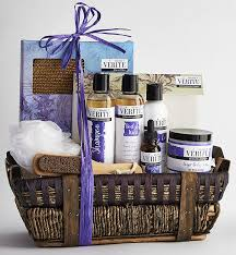 spa baskets lavender spa gift basket