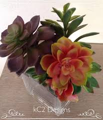 succulent vase succulent artificial flowers silk flower