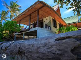 luxury beach bungalow in koh phangan thailand seaflower bungalows