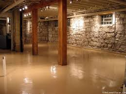 Diy Basement Flooring How To Paint A Basement Floor Basement Flooring Basements And