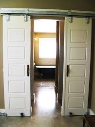 barn door track barn door hardware tube track system rustica interior with round